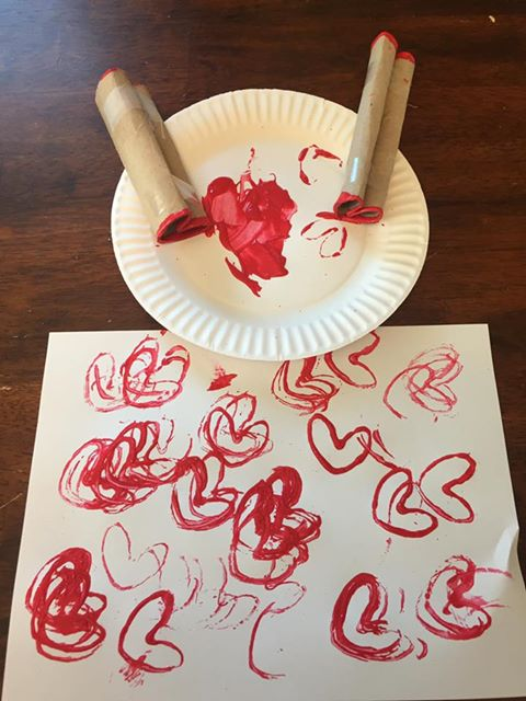 heart-prints